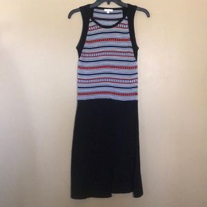 EUC Shoshanna Striped Sweater Tank Dress Size- S